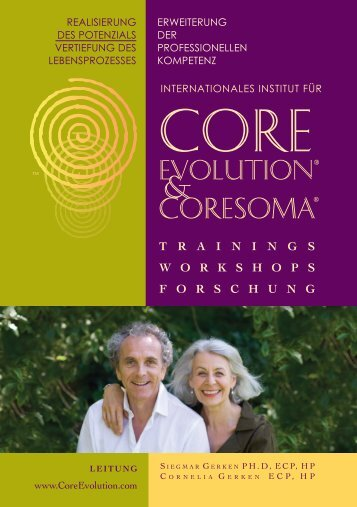 das corE Evolution trainings curriculum - Core Evolution® - CoreSoma