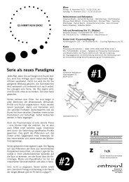 Serie als neues Paradigma - Entresol