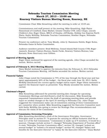 Meeting Minutes from 3-27-13 - Industry