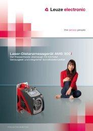 Laser-Distanzmessgerät AMS 300i - Leuze electronic