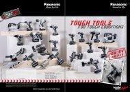 Panasonic Cordless Tool Range 2011 - toolequip.ie