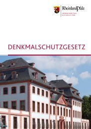 denkmalschutzgesetz - Generaldirektion Kulturelles Erbe Rheinland ...