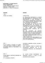 PROGRAMA: LA DOSIS EXACTA TITULO: PIRACETAM GUION ...