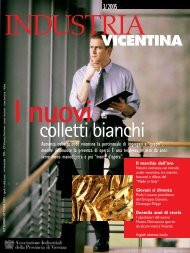 colletti bianchi - Associazione Industriali della Provincia di Vicenza