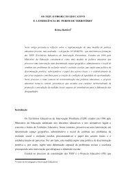 Enquadramento Terico - Faculdade de Psicologia e de Ciências da ...