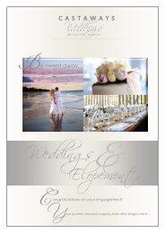 Weddings - Castaways Resort & Spa Mission Beach