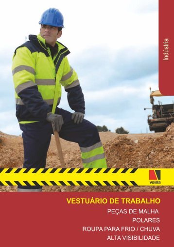 Alta visibilidade - Vestuário de Trabalho