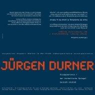 Dauer der Ausstellung, 16. Januar bis 14. Februar - Kulturring C