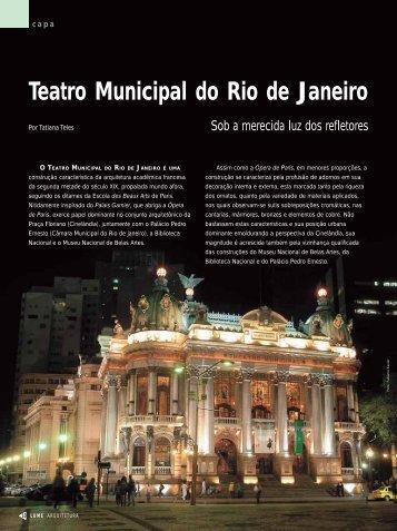 Teatro Municipal do Rio de Janeiro - Lume Arquitetura