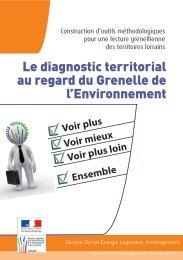 Le diagnostic territorial au regard du Grenelle de l ... - DREAL Lorraine