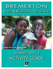 Summer 2013 (single pages).indd - City of Bremerton