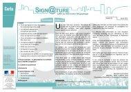 Signature n°50 - Janvier 2013 - Certu