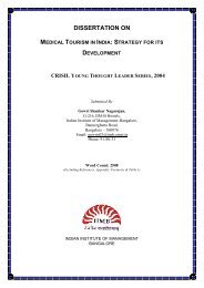 DISSERTATION ON MEDICAL TOURISM IN INDIA - Arengufond