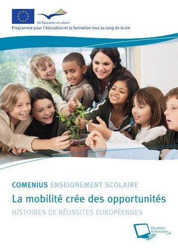 Mobilités Comenius - European Commission - Europa