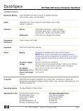 QuickSpecs - eD system Slovakia, sro - Page 6