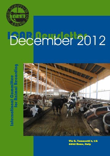 ICAR Newsletter - December 2012