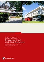 Qualitätsbericht 2010 - Bergmannsheil Buer