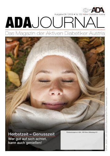 Das Magazin der Aktiven Diabetiker Austria - ADA-Aktive Diabetiker ...