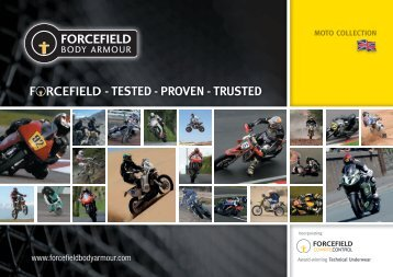 Download our 2014 Catalogue - Forcefield Body Armour