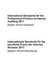 International Standards for the Professional Practice of Internal ...
