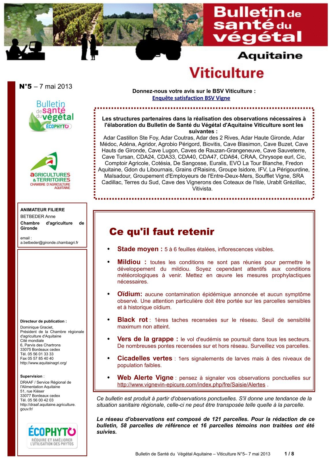 200 free magazines from aquitainagri fr - Chambre d agriculture 69 ...