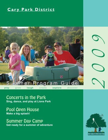 Summer Program Guide - Cary Park District