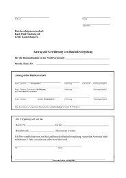 Antrag auf Gewährung von Bauholzvergütung