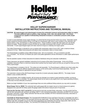 holley carid com rh yumpu com Owner's Manual holley digital dash user manual