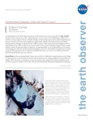 The Earth Observer. September - October 2012. Volume 24, Issue 5