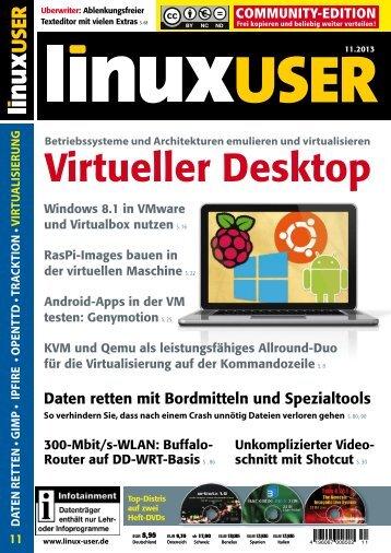 Virtueller Desktop - FreieSoftwareOG