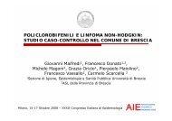 studio caso-controllo nel comune di brescia - Associazione Italiana ...