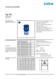 Technisches Datenblatt Typ 102 - SOCLA