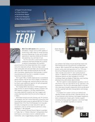 TERN - Unmanned Aircraft Drones