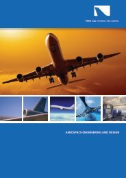 AEROSPACE ENGINEERING AND DESIGN - Tata Technologies