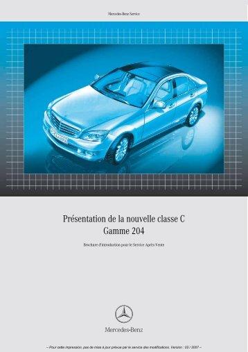 Présentation de la nouvelle classe C Gamme 204 - Free