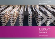 Floor plans (PDF , 3908kb) - University of York