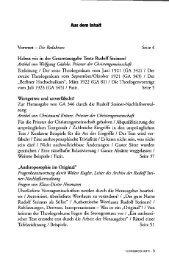 Aus dem Inhalt Vorwort - Freie Verwaltung des Nachlasses von ...