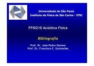FFI0210 Acústica Física Bibliografia