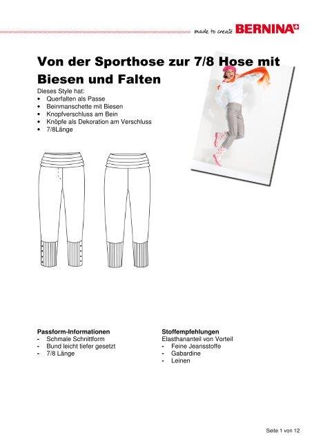 Modifikation Hose mit Biesen