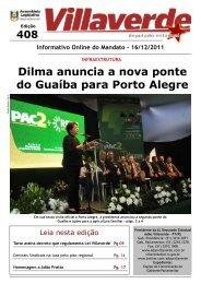 Presidenta Dilma anuncia a nova ponte do Guaíba - Adão Villaverde