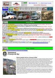 HISTORIAL Notas / Noticias Noves parades de bus a Arenys de Mar