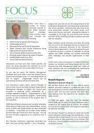 August 2011 Edition - LGMA Tas Homepage