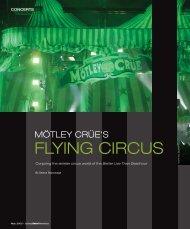 FLYING CIRCUS - Lighting & Sound America