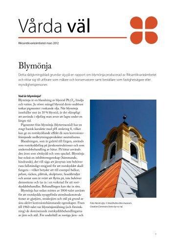 Blymönja - Svenska kyrkan