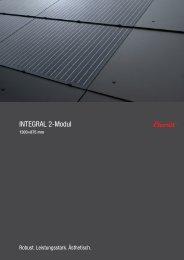 INTEGRAL 2-Modul - Eternit (Schweiz)
