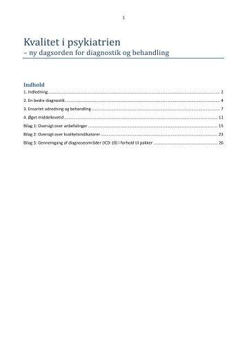 Kvalitet i psykiatrien - Region Midtjylland