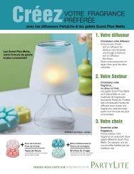 Créez votre fragrance préférée Hiver & Printemps 2013 - PartyLite