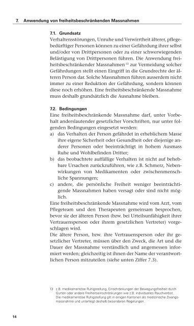 download - Schweizer Berufsverband der Pflegefachfrauen und