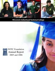 Annual Report - Wisconsin Indianhead Technical College