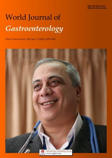 Ghrelin's second life - World Journal of Gastroenterology